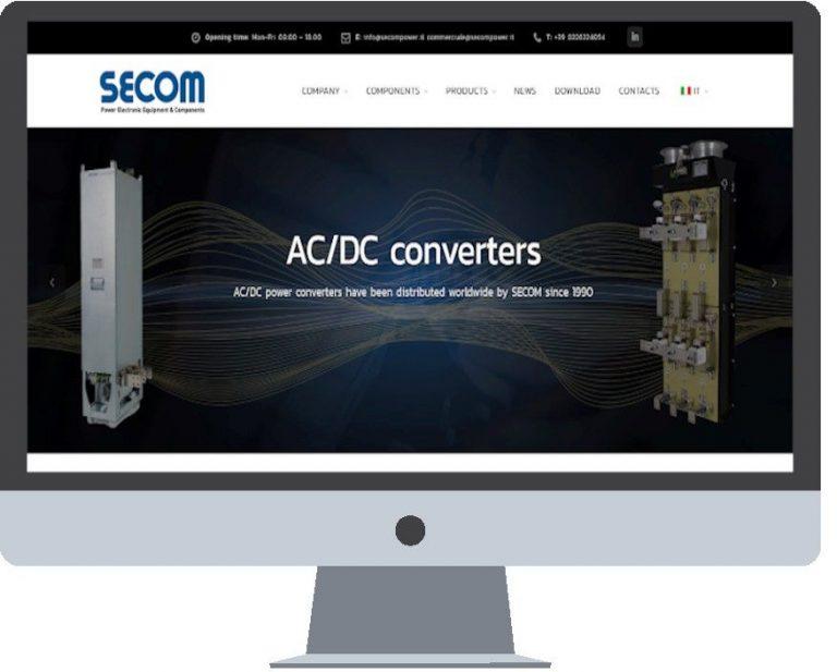 New website SECOM Power